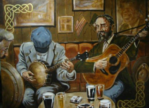 Irish Pub Painting